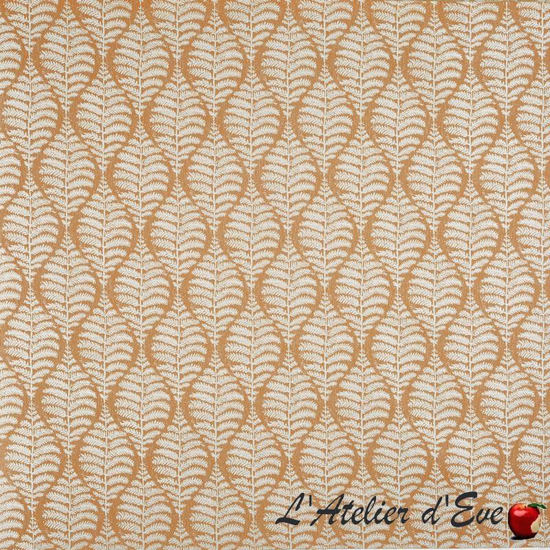 """Lottie"" Tissu auburn jacquard Bloom Prestigious Textiles"