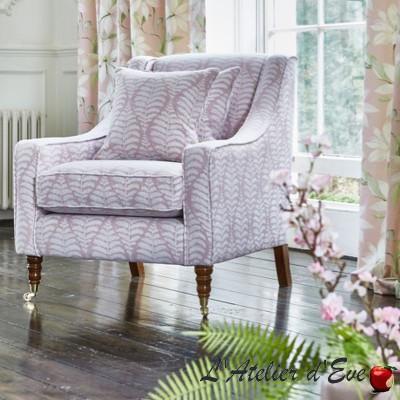 """Lottie"" Tissu linen jacquard Bloom Prestigious Textiles"