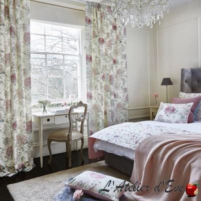 """""""Lila"""" Tissu ameublement coton fleuri Bloom Prestigious Textiles"""