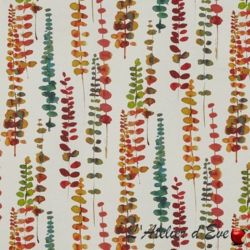 """Camarillo"" Floral cotton upholstery fabric Malibu Prestigious Textiles"