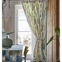 """Santa Maria"" Floral cotton upholstery fabric Malibu Prestigious Textiles"