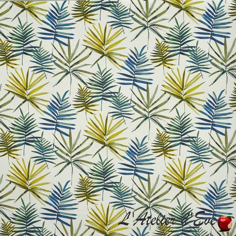 """""""Topanga"""" Tissu oasis ameublement coton Malibu Prestigious Textiles"""