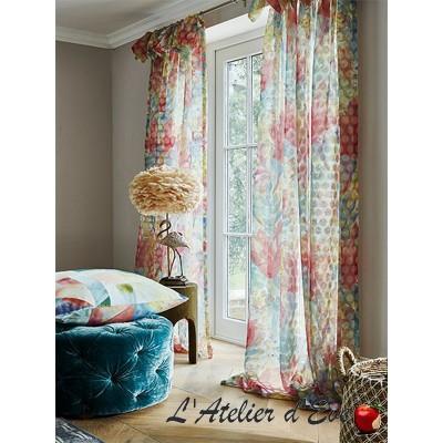 """Waterlily"" Voilage au mètre Riviera Prestigious Textiles"