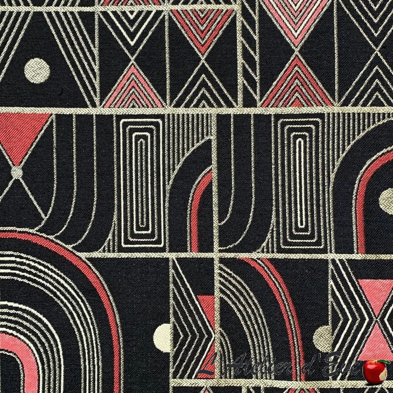 Jacquard Fabric With African Inspired