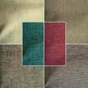 Shine (6 coloris) Rideau a oeillets pret a poser faux-uni effet chine Le Rideau