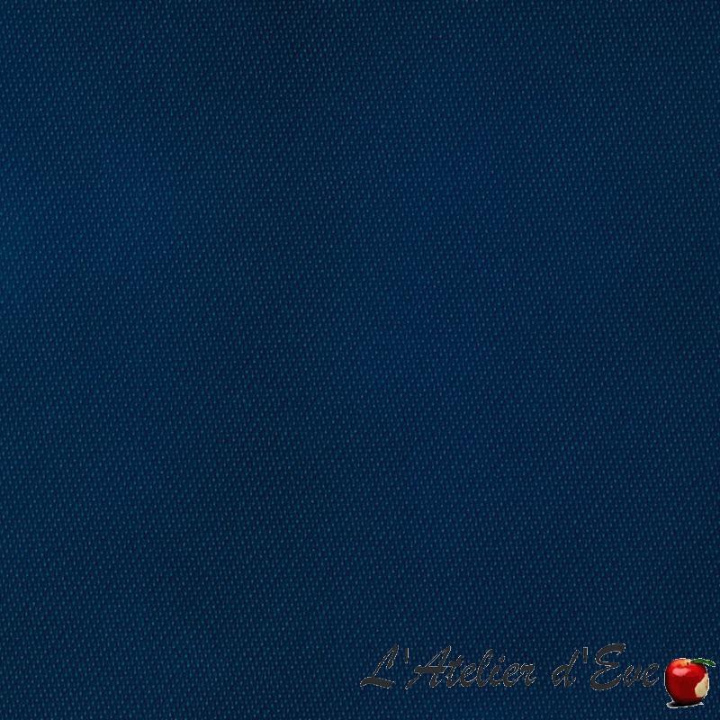 """""""Oscuratex 1111"""" Tissu marine satin occultant non feu M1 Bautex"""