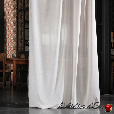 """Linosa"" Sheer linen curtain by the meter Casal"