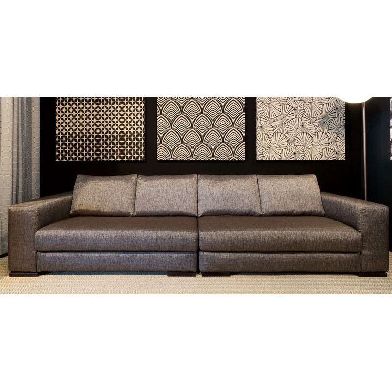Sofas portofino bespoke custom scheduled with fabric th venon for Canape d angle sur mesure