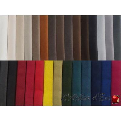 """Secura B1 1505/140"" Non-fire velvet fabric roll M1 Bautex"