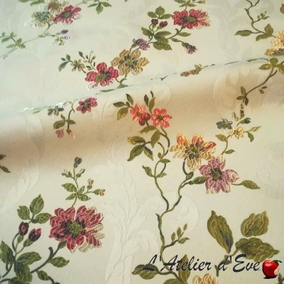 """""""Mailly"""" Embroidered Canvas Casal"""