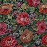 Bartok Toile brodée tapisserie fleurie ameublement Casal