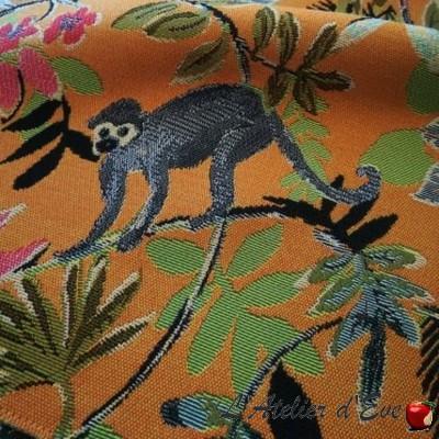 """Madagascar"" Tapisserie exotique ameublement Casal"