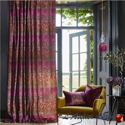 """Forbidden Forest"" Velvet Furnishing Fabric Journey Beyond Prestigious Textiles"