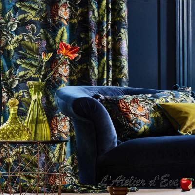 """Bengal Tiger"" Tissu velours ameublement Journey Beyond Prestigious Textiles"