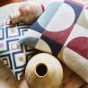 Arc tabasco Tissu ameublement coton lin Prestigious Textiles