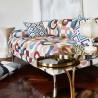 Puzzle Auburn Tissu ameublement coton lin Prestigious Textiles