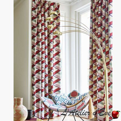 """Angle"" Tissu ameublement collection Abstract Prestigious Textiles"
