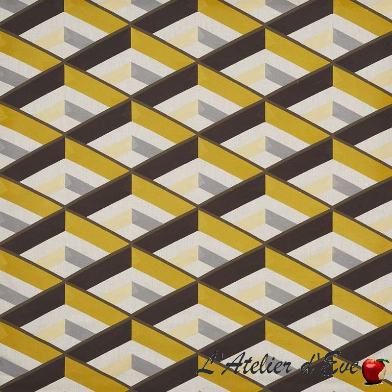 """Angle"" bumble Tissu ameublement collection Abstract Prestigious Textiles"