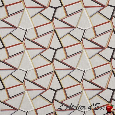 """""""Angle"""" Furnishing fabric Abstract Prestigious Textiles collection"""