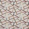 """""""Tétris"""" tabasco Tissu ameublement collection Abstract Prestigious Textiles"""