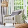 Huntington pastel Tissu ameublement chevrons Hamptons Prestigious Textiles