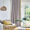 """Boston"" Tissu ameublement coton carreaux Hamptons Prestigious Textiles"