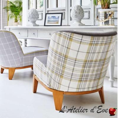 """Boston"" Hamptons Prestigious Textiles check cotton fabric"