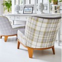 """Washington"" Tissu ameublement écossais Hamptons Prestigious Textiles"