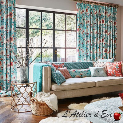 """Rosemoor"" damask fabric Tresco Prestigious Textiles"