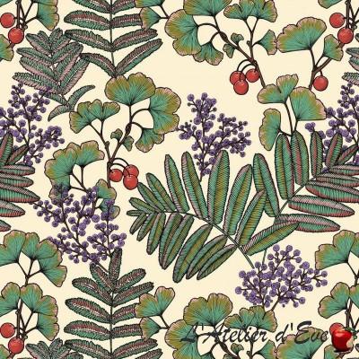 """""""Victoria velvet"""" velvet fabric upholstery Thevenon"""