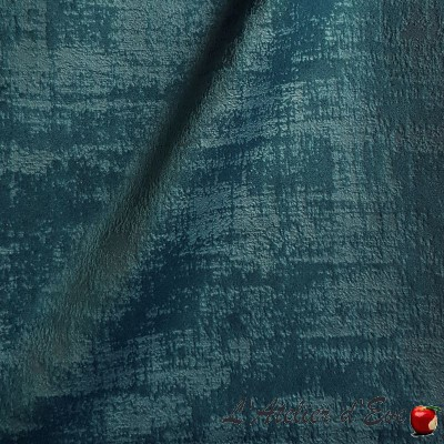 "- ""Milano"" Coupon 200x140cm velvet upholstery fabric Thevenon"