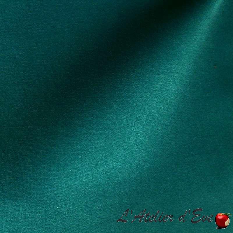 """Sweet Love"" Coupon 140x270cm tissu velours ras aspect suédine Thevenon"
