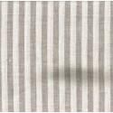 """Nature lin"" Coupon 1m60 x 3m tissu ameublement rayures lin"