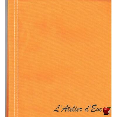 """""""Toile transat"""" jaune coupon L.43cmx 200cm coton unie jaune"""