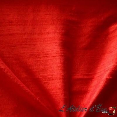 """""""Soie sauvage"""" Coupon 135x200cm tissu ameublement 100% soie"""