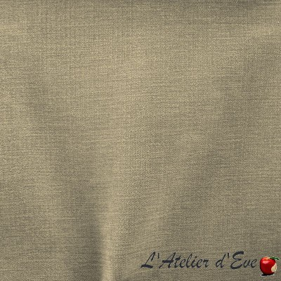 """Douceur "" brouillard Coupon 70x100cm tissu ameublement Thevenon"