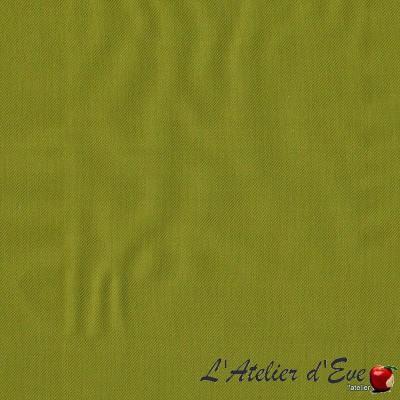"""Baccarat"" olive Coupon 70x110cm ameublement Thevenon"