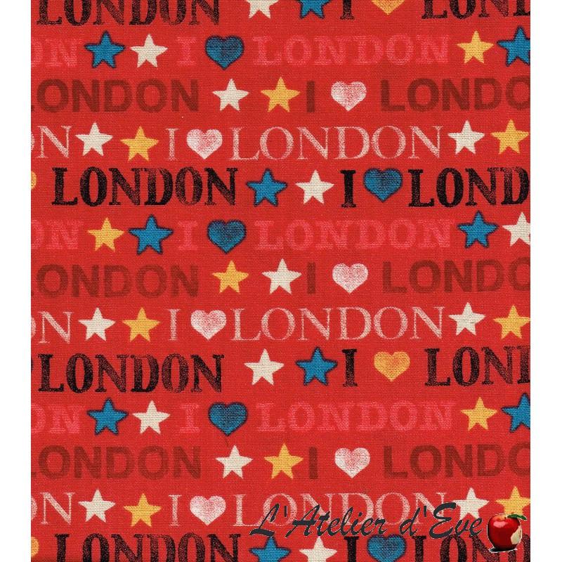 """""""Coton américain"""" coupon 55x110cm patchwork, habillement, loisirs créatifs...985r"""