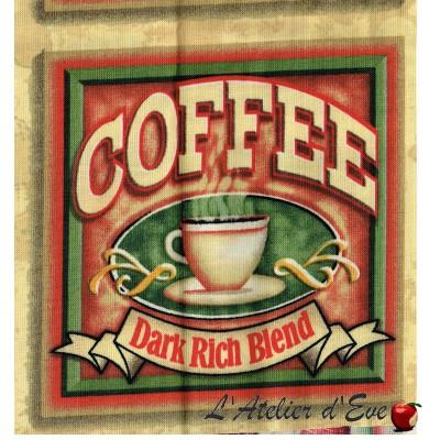 """""""Coton américain"""" coupon 60x110cm patchwork, loisirs créatifs...74268e"""