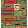 """""""Coton américain"""" coupon 50x110cm patchwork, habillement, loisirs créatifs...74270g"""