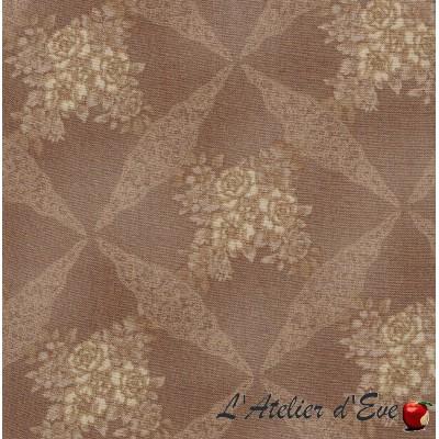 """""""Coton américain"""" coupon 50x110cm patchwork, habillement, loisirs créatifs...5901-16d"""