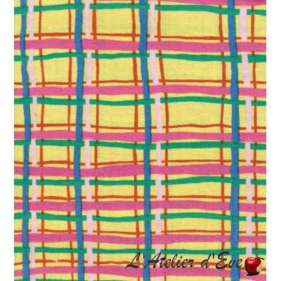 """""""Coton américain"""" coupon 90x110cm patchwork, habillement, loisirs créatifs...qbm26"""