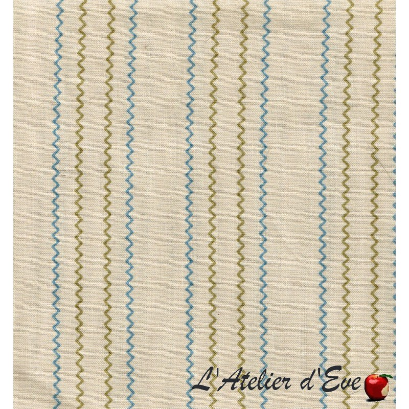 """""""Coton américain"""" coupon 50x110cm patchwork, habillement, loisirs créatifs...2695-11"""