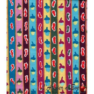 """""""Coton américain"""" coupon 70x110cm patchwork, habillement, loisirs créatifs...pwgp137"""