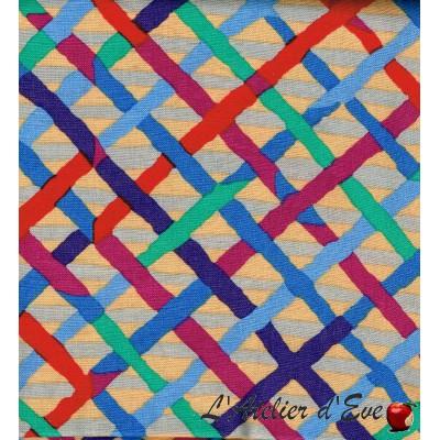 """""""Coton américain"""" coupon 120x110cm patchwork, habillement, loisirs créatifs...pwbm037"""