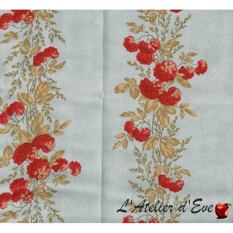 """""""Coton américain"""" coupon 50x110cm patchwork, habillement, loisirs créatifs...4091-23"""