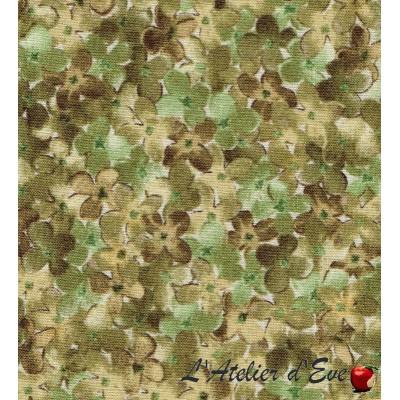 """""""Coton américain"""" coupon 40x110cm patchwork, habillement, loisirs créatifs...23170h"""