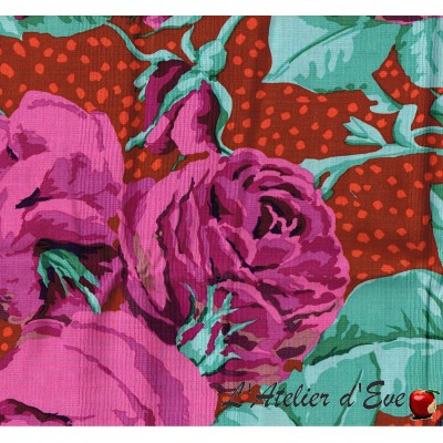 """American cotton"" coupon 130x110cm patchwork, clothing, creative hobbies ... pwgp018"