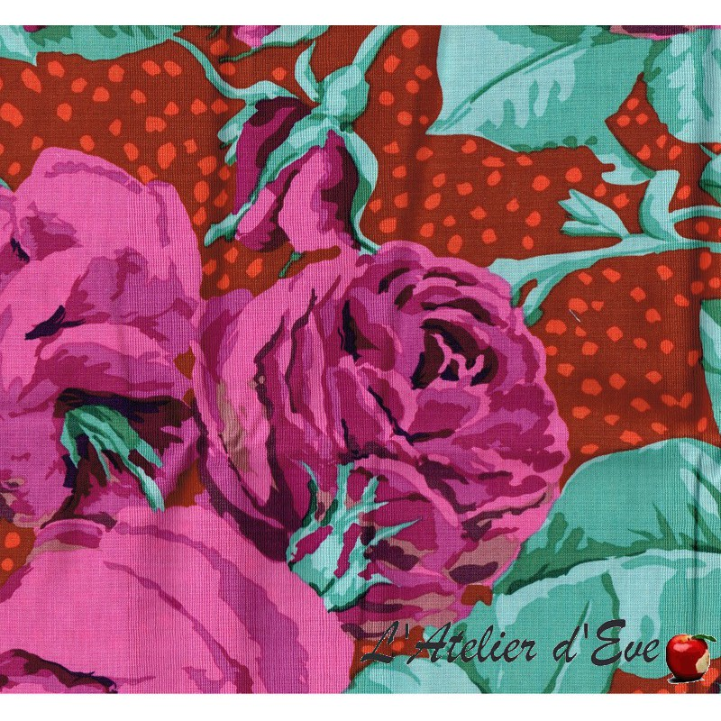 """""""Coton américain"""" coupon 130x110cm patchwork, habillement, loisirs créatifs...pwgp018"""