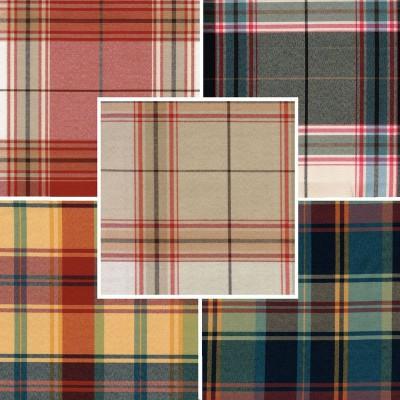 Glasgow (9 coloris) Tissu ameublement grande largeur carreaux ecossais A576